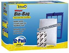 Tetra Whisper Bio-Bag Cartridge 26164, Unassembled, Large, 12-Pack, New