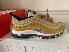 Nike Air Max 97  'Gold Bullet' Metallic gold UK 8.5 / EUR 43