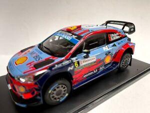 1:24 Hyundai i20 coupe WRC Sordo Rally Italia 2019 Salvat 1:43 Auto