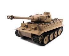 1:16 Mato German Tiger I Rc Tank Early Version 2.4 Infrared 100% Metal Desert
