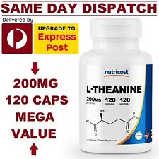 Nutricost L-Theanine Double Strength, 200mg - 120 Capsules