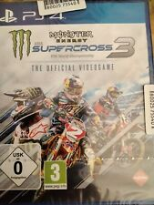 MONSTER ENERGY SUPERCROSS 3: THE OFFICAL VIDEOGAME- SONY PLAYSTATION 4