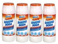 4 x Duzzit Amazing Baking Soda 500g Multi Purpose Non Scratch Household Cleaner
