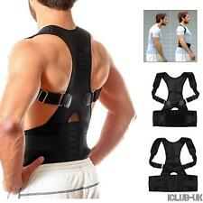 Neoprene Magnetic Posture Corrector Back Lumbar Shoulder Support Belt Brace Vest