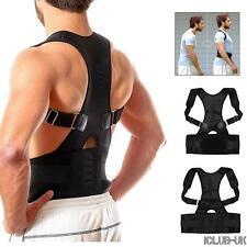 CORRETTORE di postura magnetico in neoprene schiena spalla Lombare Supporto Cintura Gilet CONTROVENTO