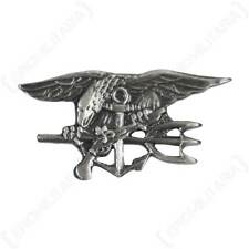 US NAVY SEALS BADGE - America Military Naval Insignia Eagle Anchor Trident Pin