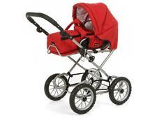 Brio 24891393 Puppenwagen Premium Combi, rot (incl. Tasche)