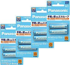 New! 8 Eneloop Batteries 5000 Cycle Rechargeable NiMH Batteries AA 950mAh Japan