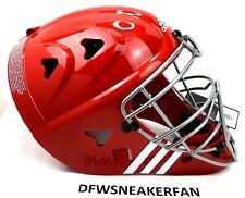 "Adidas Pro Series Baseball Softball Catcher's Helmet  Size 7""-7 3/4"" Red NEW"