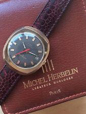 Montre Vintage Watch Michel Herbelin FME 1970's ESA 9154 Dynotron Lic ATO Y2