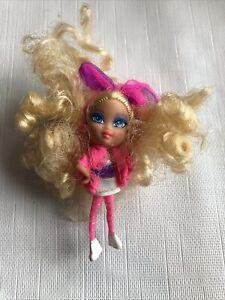 """Barbie 50th Ann Edition Rockers 1984 Mini B doll Mattel 2004 2.5"""" Hot Pink"""