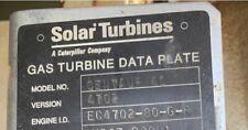 Solar Gas Turbines, Centaur 40, Version 4702, A Caterpillar Company