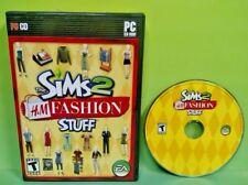 Sims 2: H&M Fashion Stuff (PC, 2007) Game Missing Manual
