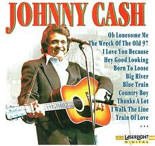 (CD) Johnny Cash - Walk The Line, O Lonesome Me, Folsom Prison Blues,Country Boy