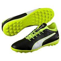 Puma evoTOUCH 3 TT Men's Black Football Trainers Soccer Shoes