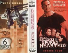WHAT BECOMES OF THE BROKEN HEARTED? / ROUTE 9 -VHS-Time Coded-Dealer Preview-PAL