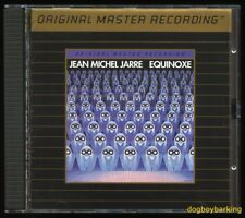 Jean Michel Jarre Equinoxe Mobile Fidelity Sound Lab Ultradisc II Gold CD MFSL