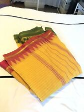 New Designer Pure Handloom Cotton Saree Sari Ganga Jumana Border