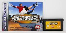 TONY HAWK'S PRO SKATER 3 - GAMEBOY ADVANCE GBA GAME BOY - PAL ESPAÑA HAWK HAWKS