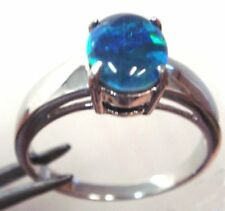 Black Not Enhanced Sterling Silver Fine Rings