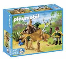 Playmobil Meerkat Playset Suricate Rookery #4853 Nib Zoo Safari