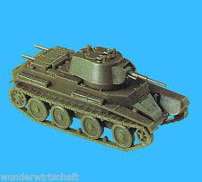 Roco Minitanks H0 1210 PANZER BT-7 Kon.Turm Rote Armee WWII HO 1:87 OVP Premo
