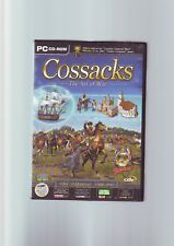 COSSACKS EUROPEAN WARS : THE ART OF WAR - PC GAME EXPANSION ADD-ON  COMPLETE VGC