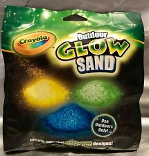 Crayola Glow Sand Refill Pack- Up To 4 Hours Of Glow In-The-Dark Play - Washable