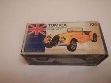 1977 Tomica Tomy Morgan Plus 8 F26 1/57 Blue