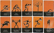 GREECE set of 25 calling cards Olympic Games mint
