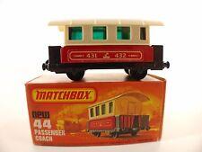 Matchbox  n°44 • Passenger Coach •1/64 en boîte/ boxed