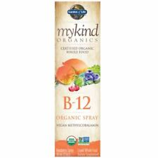 mykind Organics - Vegan B12 Organic Spray (Raspberrry) - 58ml