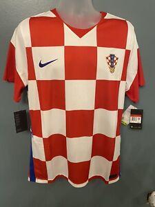 Original Nike Croatia Soccer Football home euro2020  Jersey Mens size large