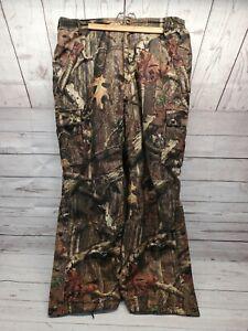 Realtree Bushmaster Insulated Camo Hunting Pants Men's Large Adjustable Waist