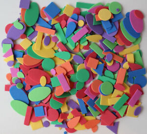 Crayola Foam Shapes for Arts Crafts Scrapbooks in Assorted Vibrant Colors 350pcs