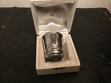 Coffret timbale en métal argenté Gallia/Christofle