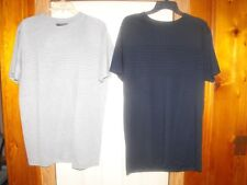 Lot of 2 Victorious ribbed design, biker inspired, urban, low rider t-shirts