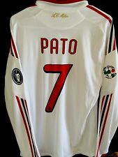 2009-10 AC Milan Away L/S Shirt Player Issue Soccer Jersey PATO Formotion L