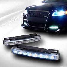 2x 8 LED DRL Feux de jour Avant Phare Diurne Eclairage Voiture Blanc Xenon 12V