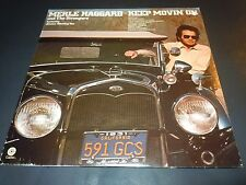 MERLE HAGGARD~Keep Movin On~Record~Album~Original~1975