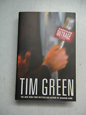 NEW Tim Green, American Outrage, Hardcover, 1st edition, w/warranty