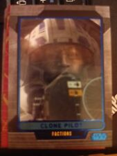 Star Wars 2012 Galactic Files 1 #327 Clone Pilot Blue Parallel #d 177/350