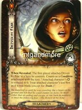 Lord of the Rings LCG  - 1x Driven by Fear  #025 - The Stone of Erech