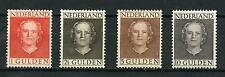 Nederland 1949 Juliana en face 534-537-ABSOLUUT POSTFRIS CW 1.150