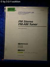 Sony Bedienungsanleitung ST SE300 /SE500 /SE700 FM/AM Tuner (#2014)