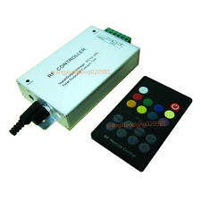 18key RF Music RGB Remote Controller Audio In Sound Sensitive adjustable 12A