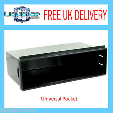 CT24UV12 VOLKSWAGEN GOLF PASSAT POLO 1999 > BLACK FASCIA FACIA POCKET ADAPTOR