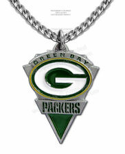 "GREEN BAY PACKERS NECKLACE for MALE or FEMALE - 24"" CHAIN - NFL FREE SHIP #CA*"