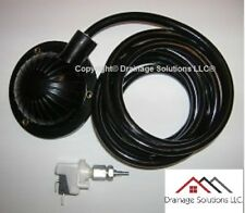 Air Foot Pedal & Pressure Switch Assembly Combo Set for Drain Cleaning Machines