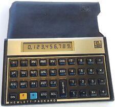 Hewlett Packard ~ Hp 12C Financial Business Calculator Nice-Clean